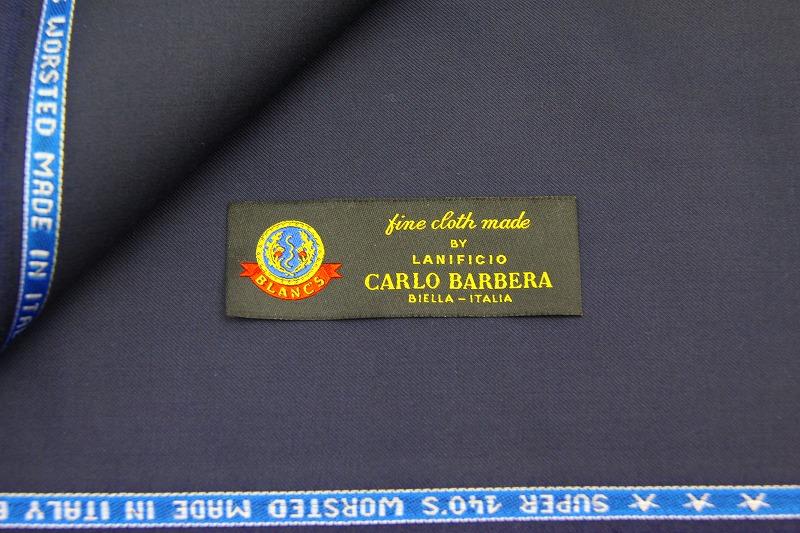 「カルロバルベラsuper140s」現物生地入荷 10/9(金)~売り切れ次第終了